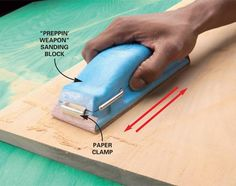 DIY Basics: sanding woodwork | The DIY Adventures- upcycling, recycling and do it yourself from around the world.