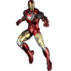 Hot Toys Iron Man Mark VI - Marvel 12 Inch Doll Figure Iron Man 2 buy now http://amzn.to/2q4Mg9Z