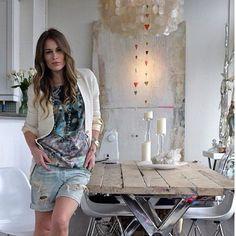 Quando a decoração da casa é o reflexo do estilo da dona! - @santteestilo- #webstagram