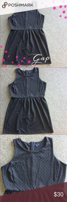 """GAP Black Dot Dress 