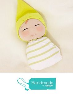 7 inch handmade doll. Swaddled baby boy soft sculpted cloth doll. from La Chulona Handmade Dolls https://www.amazon.com/dp/B01I5V4E4S/ref=hnd_sw_r_pi_dp_QupMxbN783D8Y #handmadeatamazon