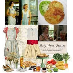 Fried Green Tomatoes at the Whistle Stop Cafe by kathryn368 on Polyvore featuring Forever 21, Chloé, F-Troupe, Seychelles, Hostess, FRUIT, Edition, women's clothing, women's fashion and women