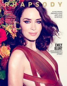 Emily Blunt - Rhapsody In-flight Magazine December 2014 Edition Emily Blunt, Celebrity Crush, Celebrity Photos, Non Blondes, Beautiful People, Beautiful Women, Daniela Ruah, Jennifer Garner, Queen