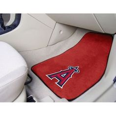 ~Los Angeles Angels of Anaheim Car Mats Printed Carpet 2 Piece Set - Special Order~ backorder Car Mats, Car Floor Mats, Entry Mats, Customize Your Car, Custom Mats, Sports Team Logos, Rugs And Mats, Nylon Carpet, University Of Maryland