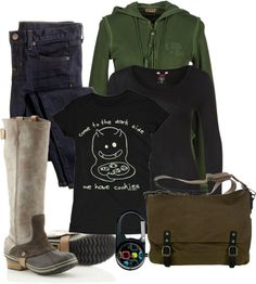 """""""Day at the barn"""" by sunnykansas on Polyvore"""