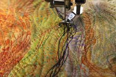 machine quilting How to Sew Art Part Two on Sewing With Nancy with Nancy Zieman and guest Tammie Bowser.