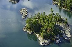 Georgian Bay, on Lake Huron in Ontario, is the world's largest freshwater archipelago