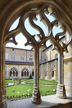 Abbaye cistercienne de Cadouin. Dordogne Périgord. Aquitaine
