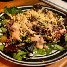 Sugar Pink Food: Recipe: Slimming World Big Mac in a Bowl