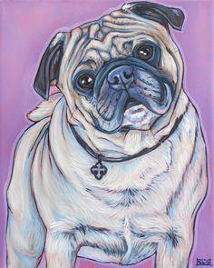 Henley the Pug