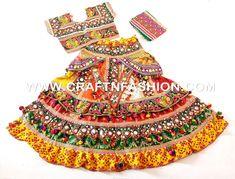 Designer Indian Fusion Sanedo Chaniya Choli - Gujarat Garba Dance Costume Dress Garba Dance, Garba Dress, Dandiya Dress, Gagra Choli, Choli Designs, Work Blouse, Occasion Wear, Costume Dress, Lehenga Choli