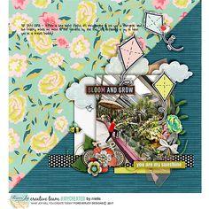 Digital Scrapbooking Kit -SIGNS OF SPRING | ForeverJoy Designs