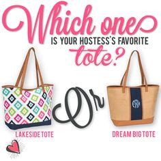 Who knows our hostess best? Thirty-One Spring/Summer Facebook party game. #morethanjustabag Lakeside Tote/Dream Big Tote