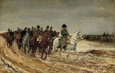 Jean-Louis Ernest Meissonier (French 1815–1891) [Academicism, Classicism, Military painter, War painter] The French Campaign, 1861. Musée d'Orsay. The Athenaeum