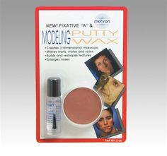 Mehron Modeling Putty/Wax with Fixative