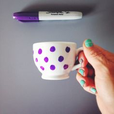 DIY Espresso Cup: inspired by the dot