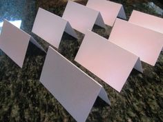 150 blank escort cards white by PlantablesAndPaper on Etsy