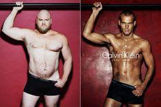 Calvin Klein, Homem Normal x Freddie Ljungberg