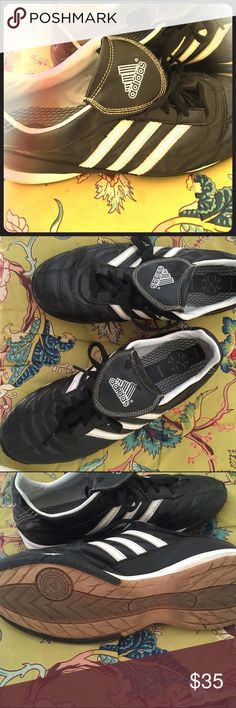 Adidas shoes. Indoor soccer and walking shoes. Perfect condition. Very comfortable . Adidas Shoes Athletic Shoes