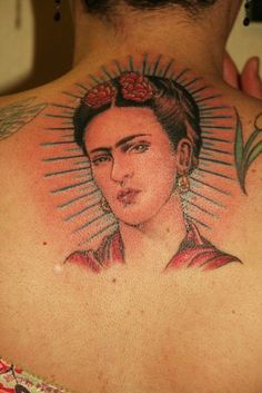 Frida Kahlo ~ #SavedTattoo Brooklyn 2013 #Tamez #Tattoo