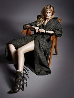visual optimism; fashion editorials, shows, campaigns & more!: constance jablonski by marcin tyszka for telva september 2014