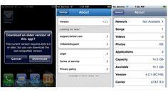 Apple permite descargar versiones de apps antiguas para los dispositivos más viejos