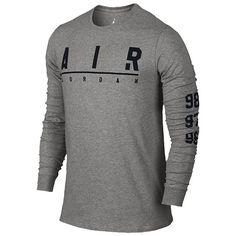 Jordan A.I.R. Jordan Long Sleeve T-Shirt - Men's