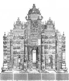 Triumphal Arch, 1515-1517 // Albrecht Durer (1471-1528) // © British Museum