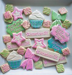American Girl cookies - Kookie Kreations by Kim
