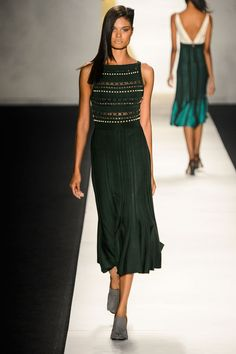 Not only is this dress absolutely stunning.... So is the model wearing it!