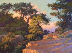 Another beauty by Kim! Evening Colors, Torrey Pines by Kim Lordier Pastel ~ 18 x 24