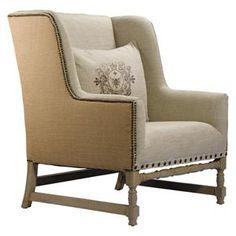 Antwerpen Linen Arm Chair | Nebraska Furniture Mart