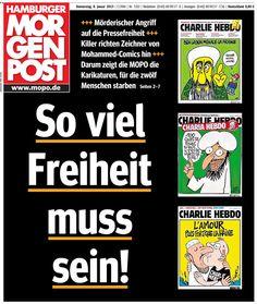 Die Hamburger Morgenpost.