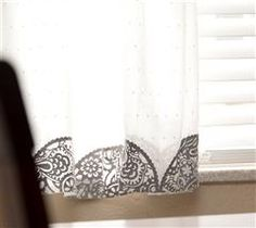 Spruce up your old curtains with this beautiful project!