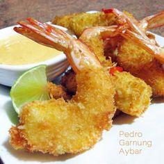 Esta receta de gambones rebozados con mayonesa de mango la envía nuestro amigo Pedro Garnung Aybar. El plato es un bocado sencillo y muy festivo.