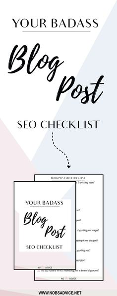 Make sure your blog post seo is on point with this seo checklist. There's no point in creating great content if no one is going to see it. Use this seo blog post checklist to optimize your blog posts for search engines. Choose your keyword with a purpose. Blogging seo basics,seo marketing, seo tips,blog seo tips seo blogger