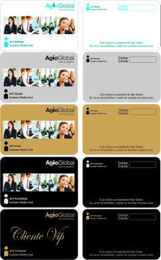 Tarjetas Fidelización de Clientes PVC - Agio Global