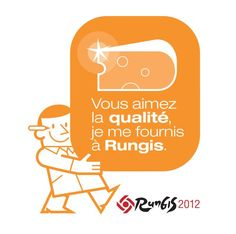 The Rungis Sticker is a sign of your status as a buyer in Rungis. It helps in spreading positive values about Rungis to your customers. North Face Logo, Macarons, Positivity, Logos, Dairy, Logo, Macaroons, Optimism