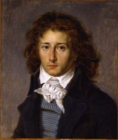 Portrait of Artist François Gérard, aged 20, ca 1790 by Antoine-Jean Gros.