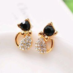 Penny Deals   - 1 Pair Fashion Women Lady Elegant Crystal Rhinestone Ear  Stud Earrings New Valentine Day Gift -- Check this awesome product by going  to the ... a3ab266fdc7f