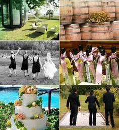 Cute wine country wedding ideas