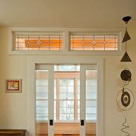 Transom Above Double Pocket Doors (between Dining And Kitchen? Probably No  Room