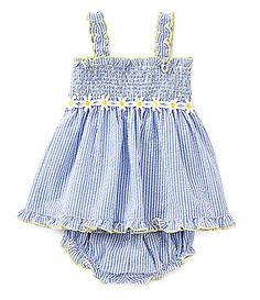 Starting Out 324 Months Seersucker Dress and Bloomer Set #Dillards