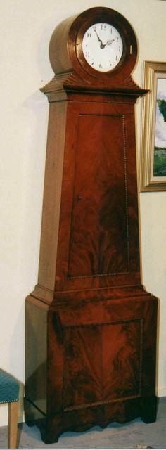 Höderath : Antike englische Uhren : Standuhren : Biedermeier, Schweden 22