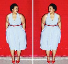 GarnerStyle | The Curvy Girl Guide: Now, Swap It Out!  I want to swap my dresses with you!!!