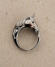 Lazy Oaf - Dark Unicorn ring