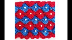 Crochet pattern - easy Catherine wheel crochet stitch