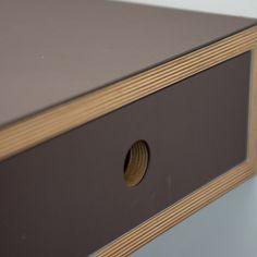 Plywood desk | Living | Make Furniture