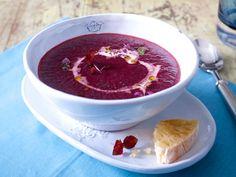 Leichte Suppen - köstliche Schlank-Rezepte - rote-bete-holundersueppchen  Rezept