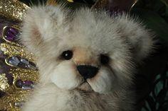 recycled Mink teddy bear. www.kimbearlys.com